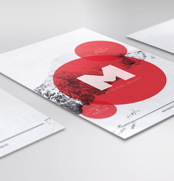 11_Flyer : Poster PSD Mockups