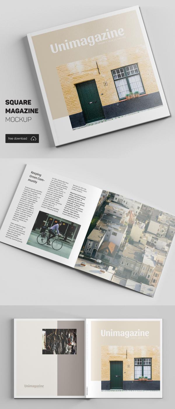 20_Square Magazine Mockup