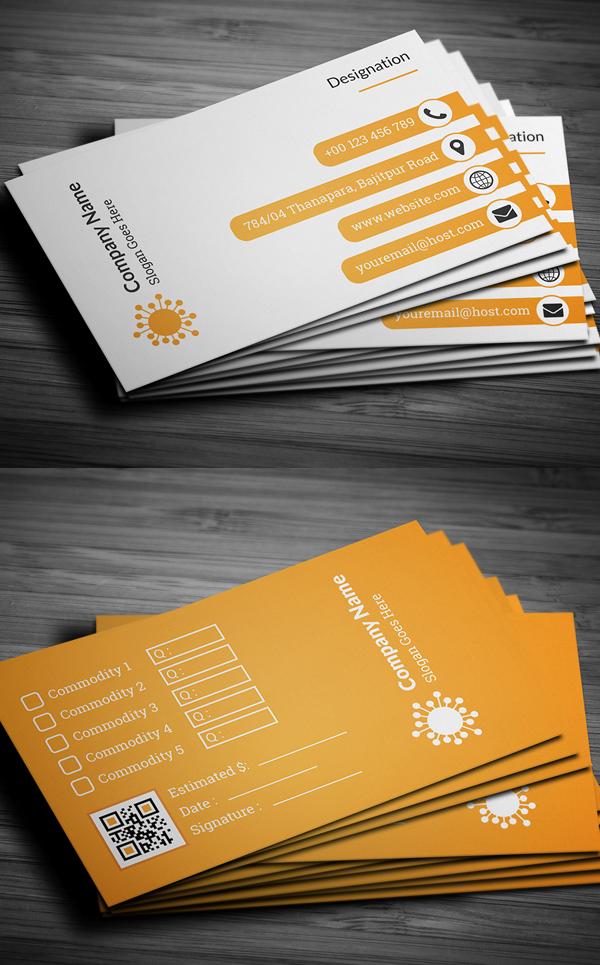 01 Corporate Business Card Design
