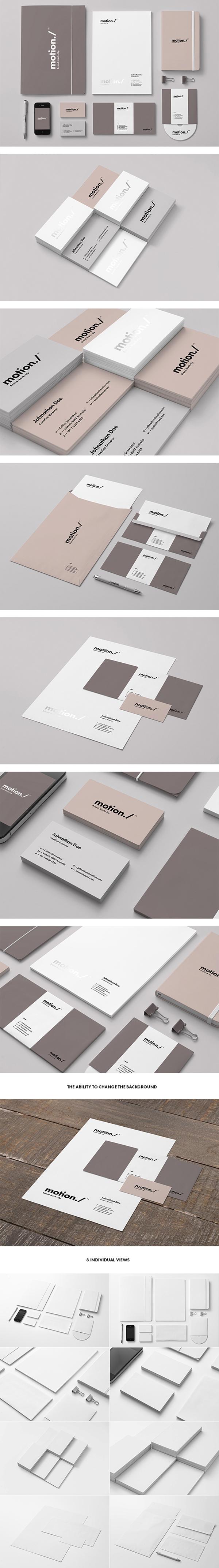 04 Branding : Identity Mock-up