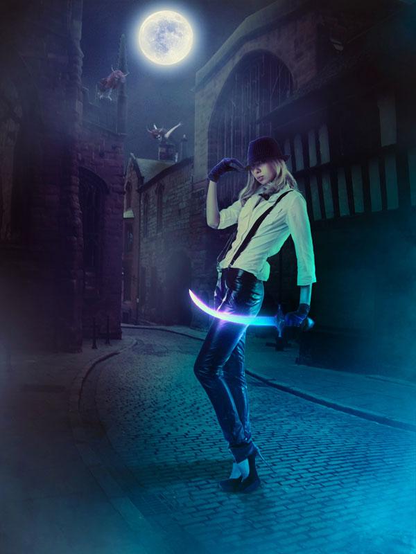 04 Dark Night Hunter Scene