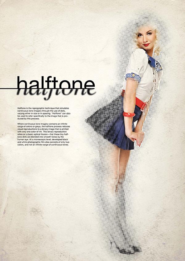 14 stylish halftone effects