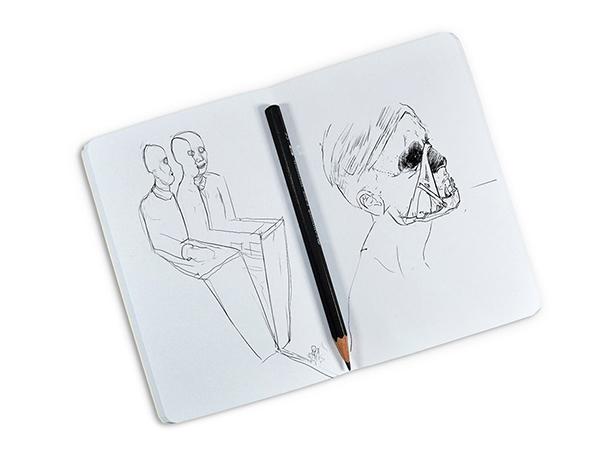 15 Free Sketchbook mockup