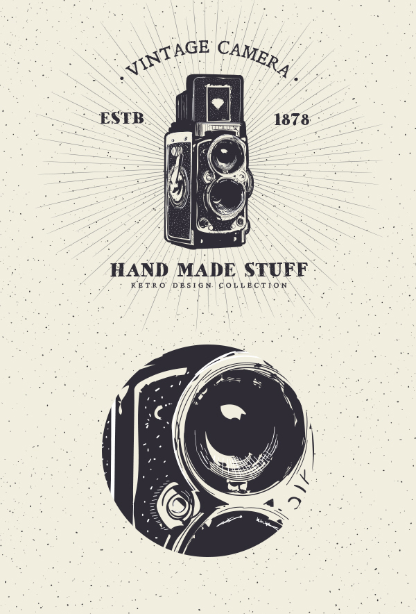 16 Free Vintage Rolleiflex Badge