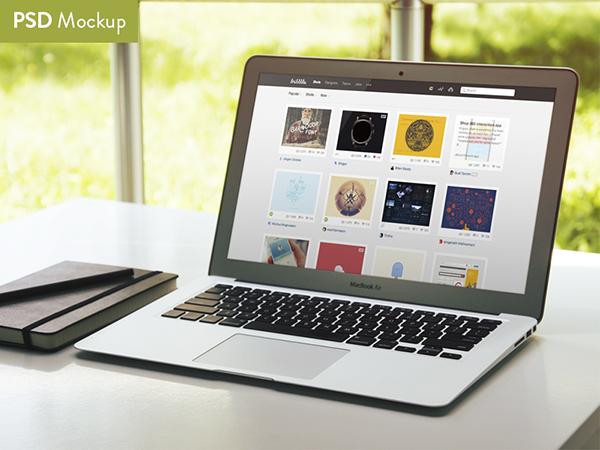 17 Free MacBook Air Mockup