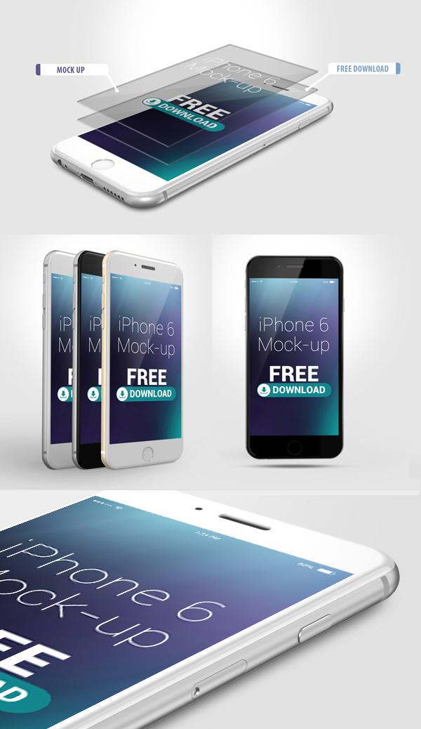 17 Free iPhone 6 MockUp