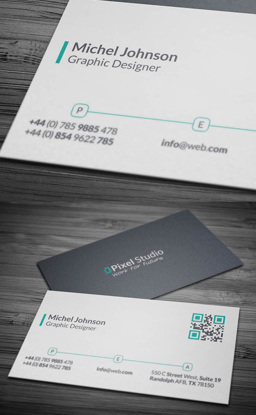 17 Modern Style Business Card
