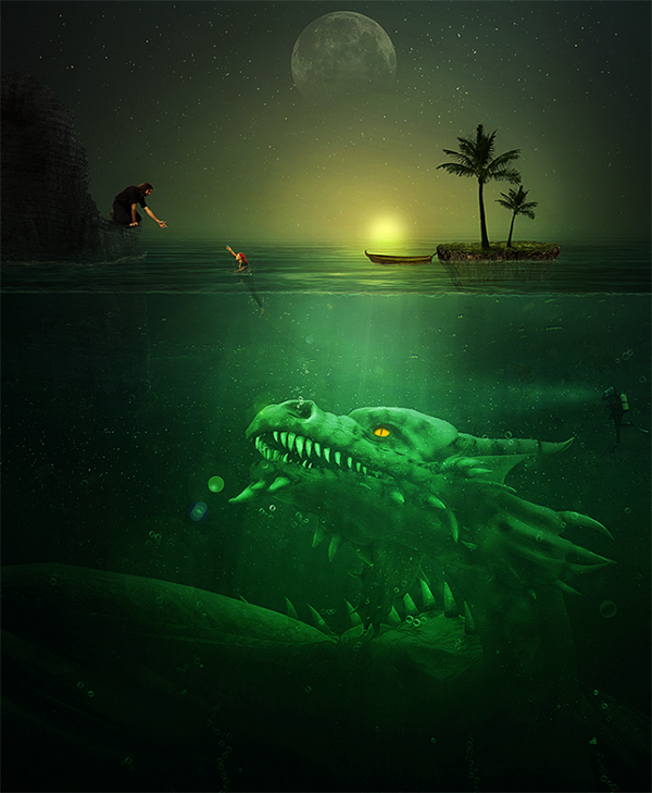 18 Troublesome Underwater Scene