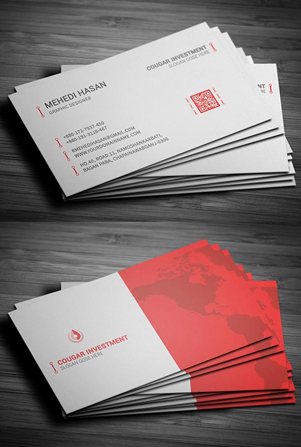 24 Print Ready Business Card Design