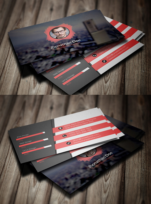 26 Creative Personal Business Card