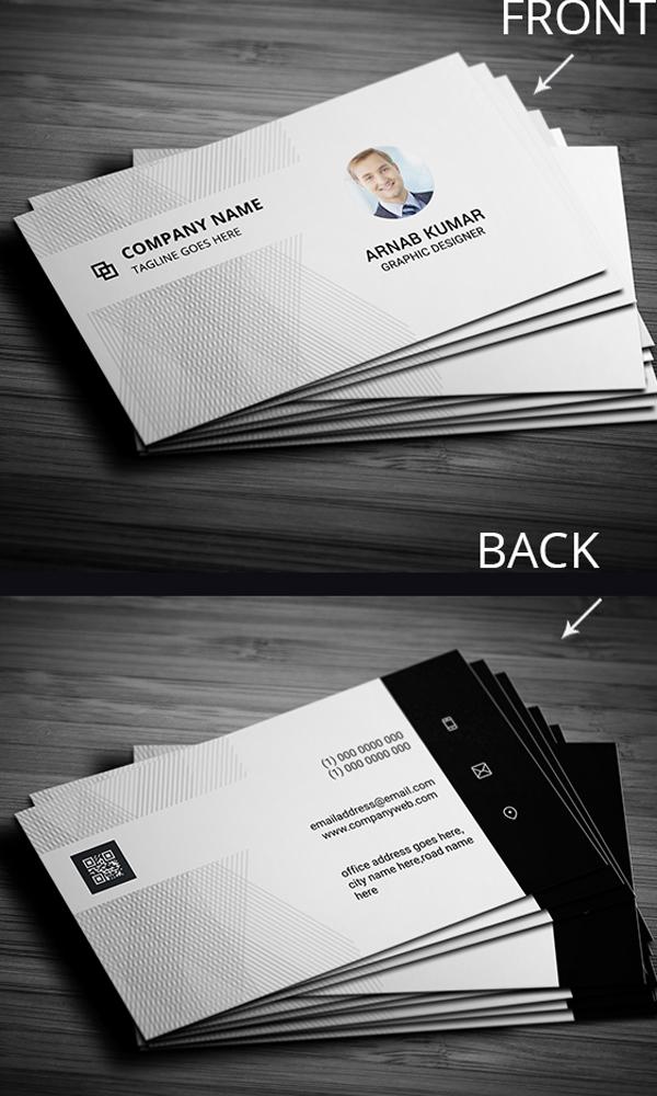 28 Minimalist Style Business Card