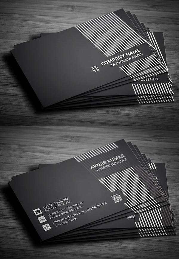 29 Black Creative Business Card