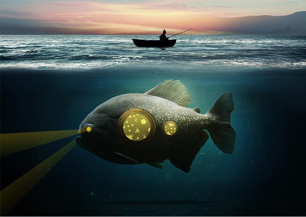 29 Underwater Surreal Scene