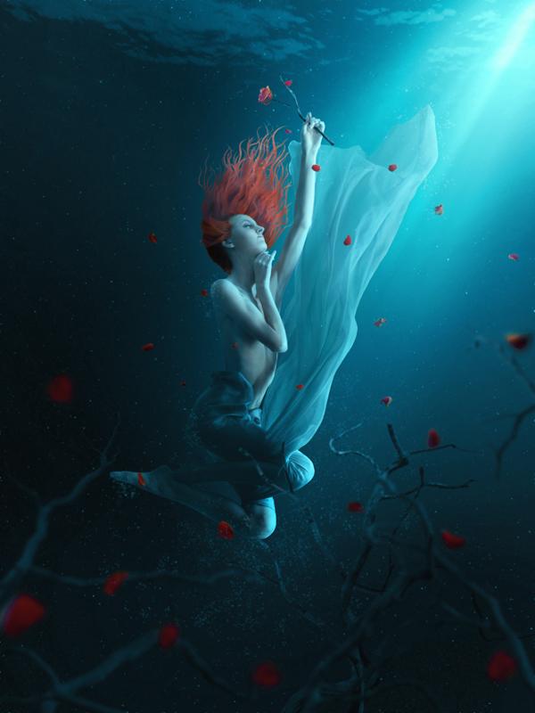 32 Fantasy Underwater Scene