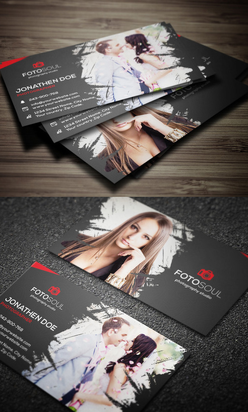 35 Photography business card