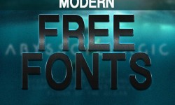25 Greatest Modern Free Fonts for Designers