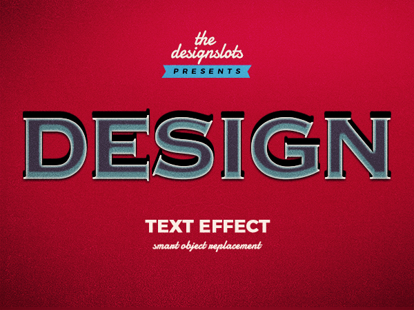 01 Design Vintage Text Effect
