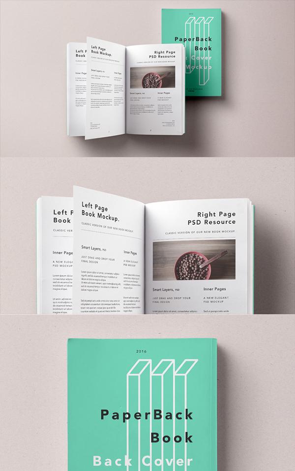 01 Paperback Psd Book Mockup