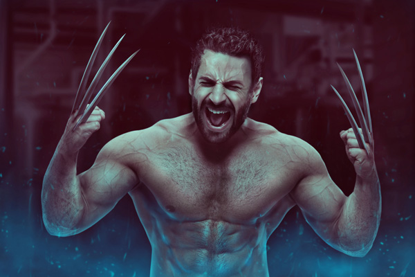 01 Wolverine Photo Manipulation