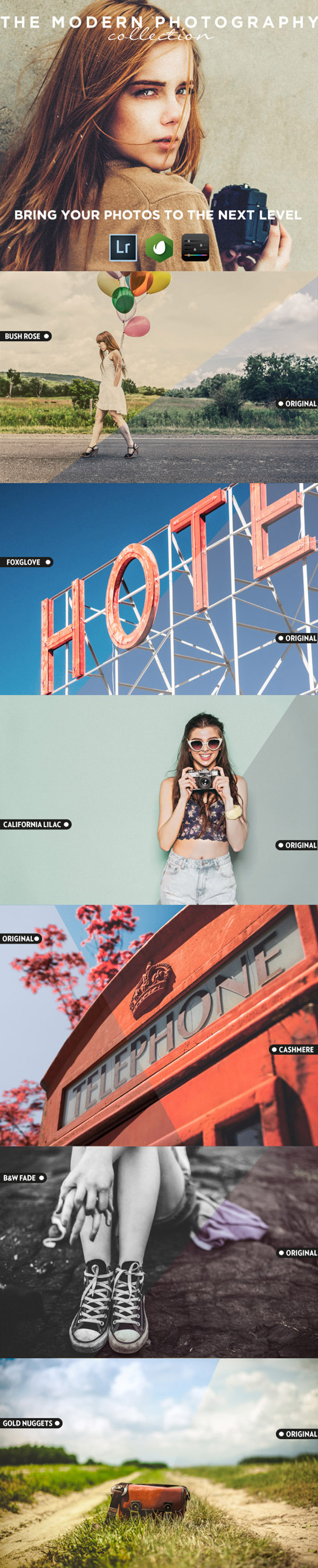 02 The Modern Photography - Lightroom presets