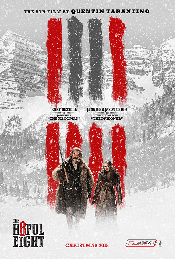 03 Own Hateful Eight Movie Poster