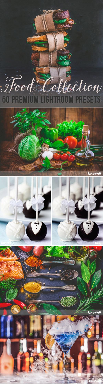 04 50 Premium Food Photography Lightroom Presets