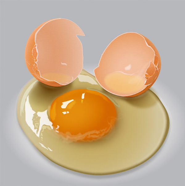 05 How to Create Egg Yolk