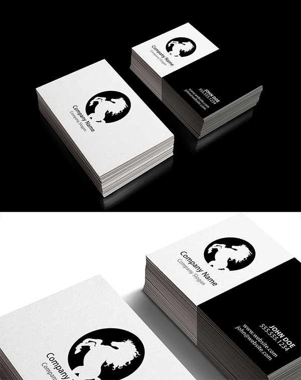 07 Free Corporate Style Business Card