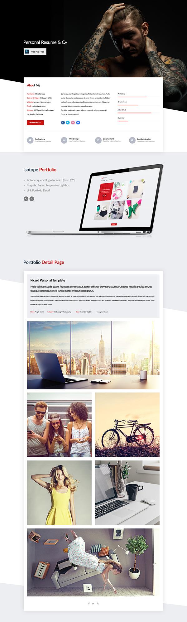 11 Onepage Pancaro Resume & Cv