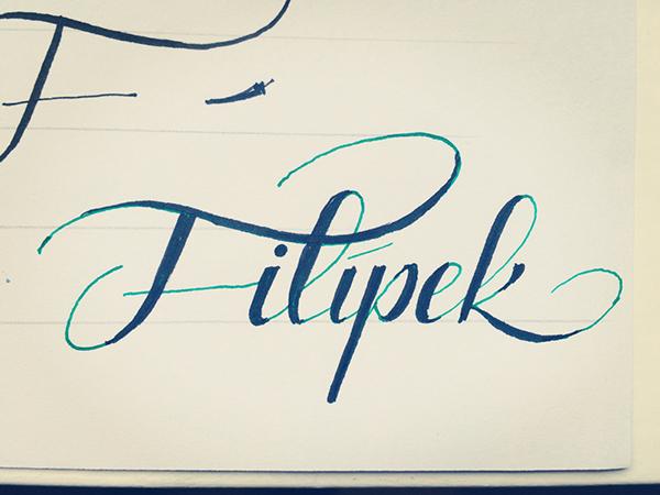11 Tinak & Filipek lettering sketches