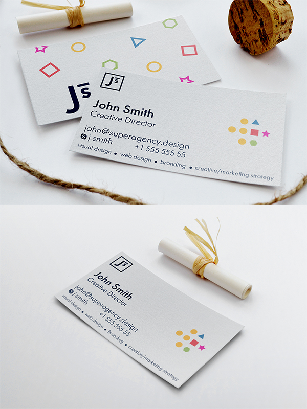 12 Free Minimal Business Card