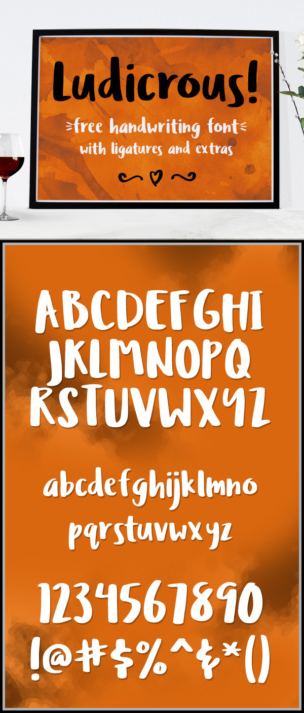13 Ludicrous Free Font