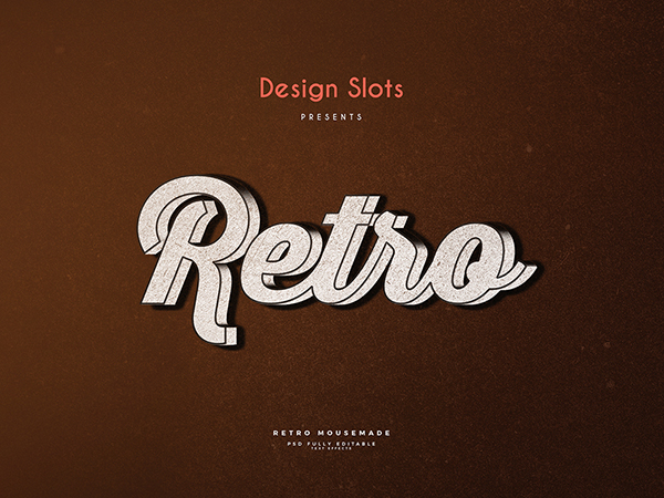 14 Retro Text Effect