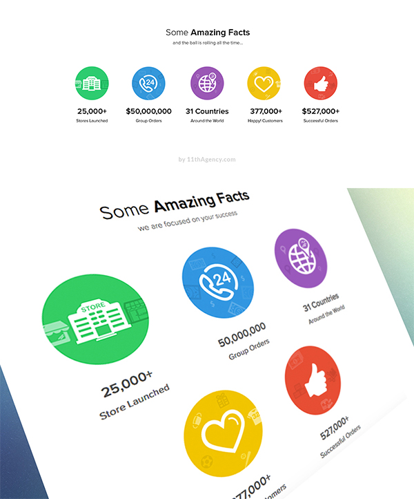 15 Free Flat Icons PSD