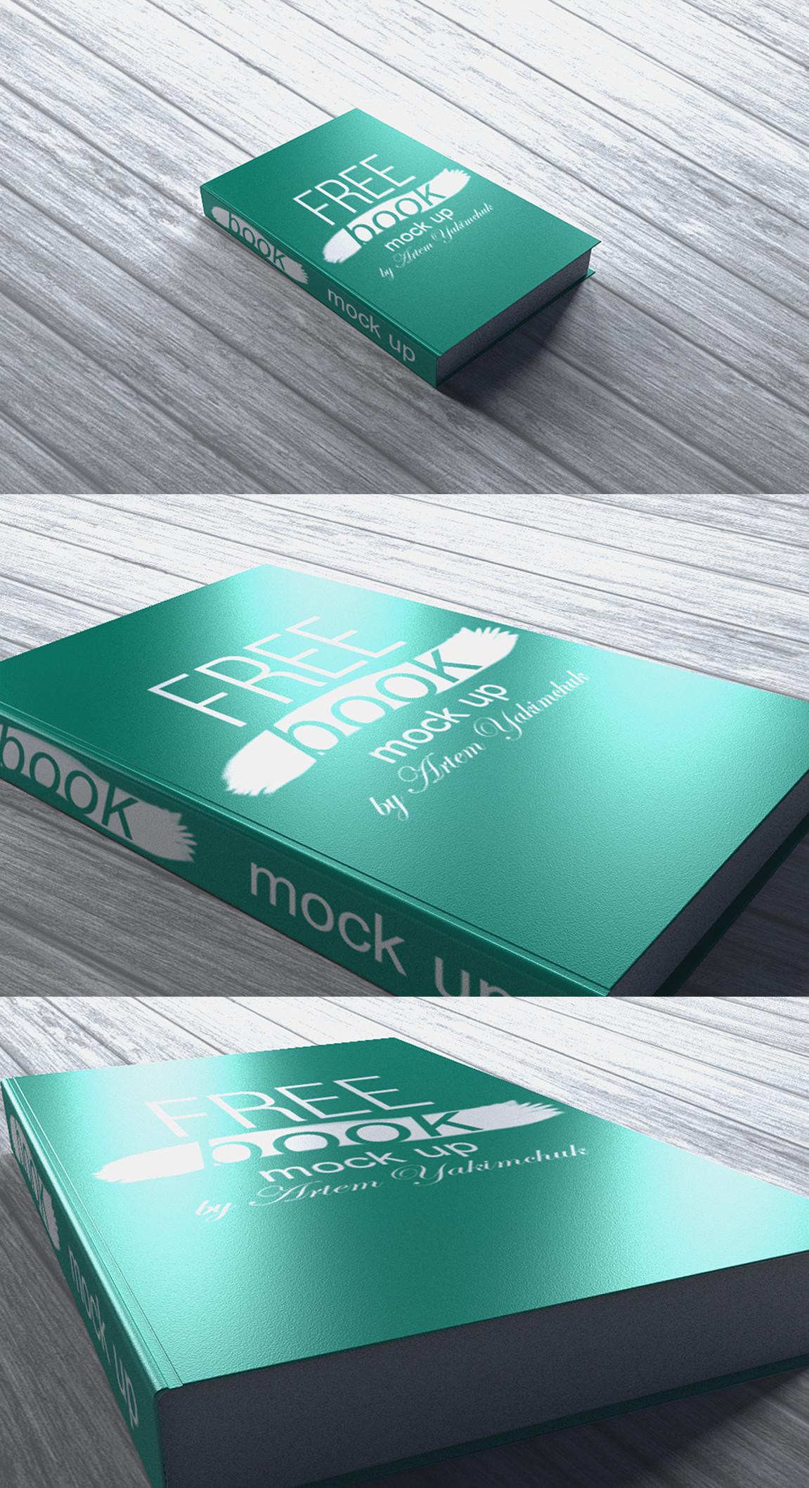 17 Free Book MockUp