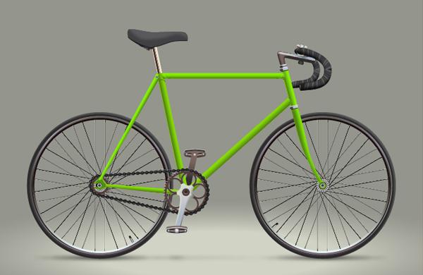 21 Create a Racing Bicycle in Adobe Illustrator