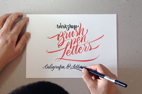 23 Brush pen Letters Workshop