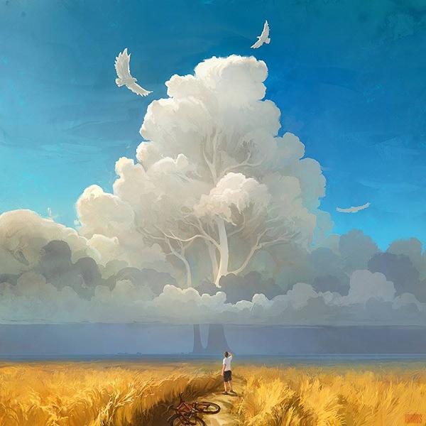 Surreal Digital Painting 14