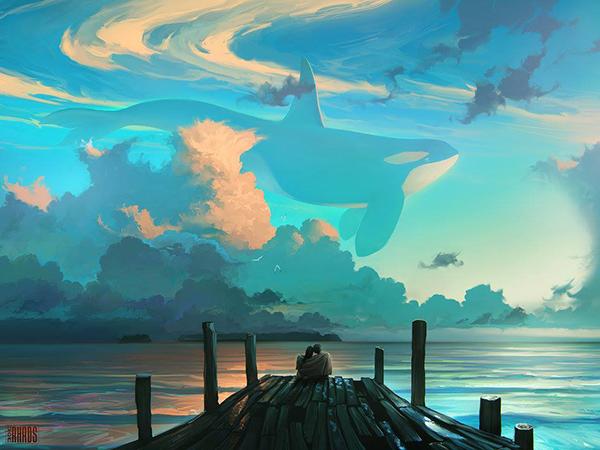 Surreal Digital Painting 39