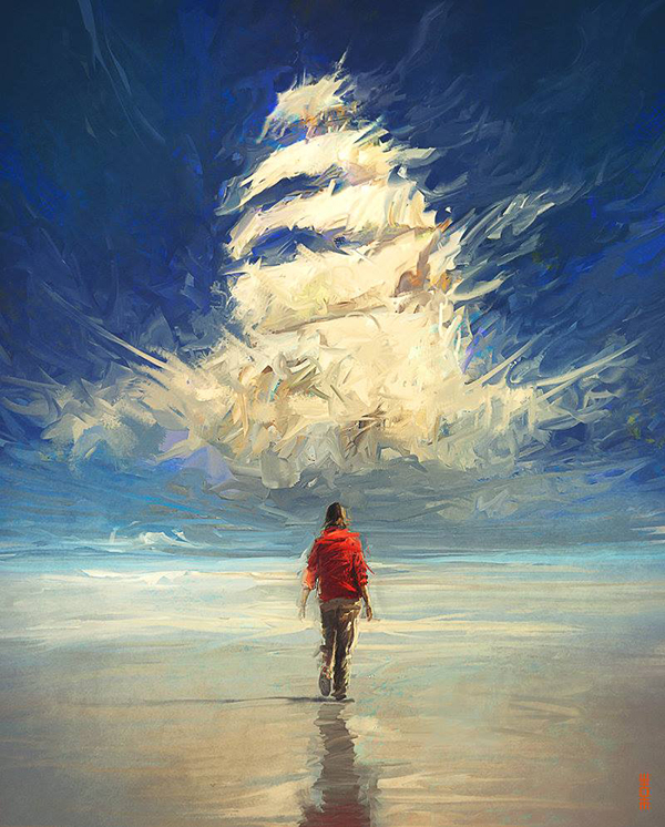 Surreal Digital Painting 44
