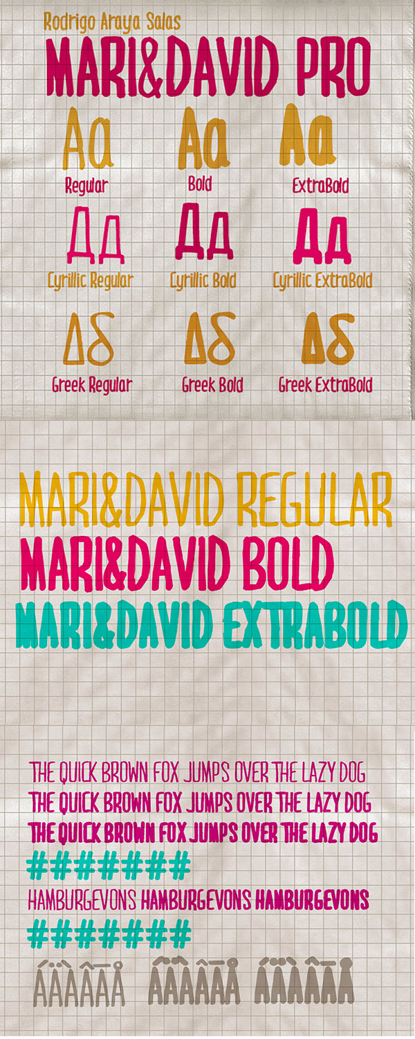 04 Mari & David Free Font