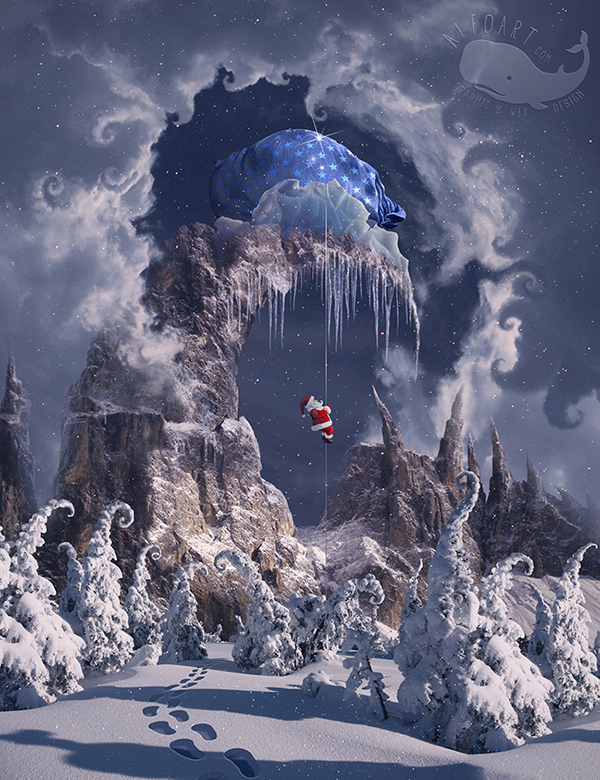 06. Learn How to Create Winter Magic Photo Manipulation in Photoshop Tutorial