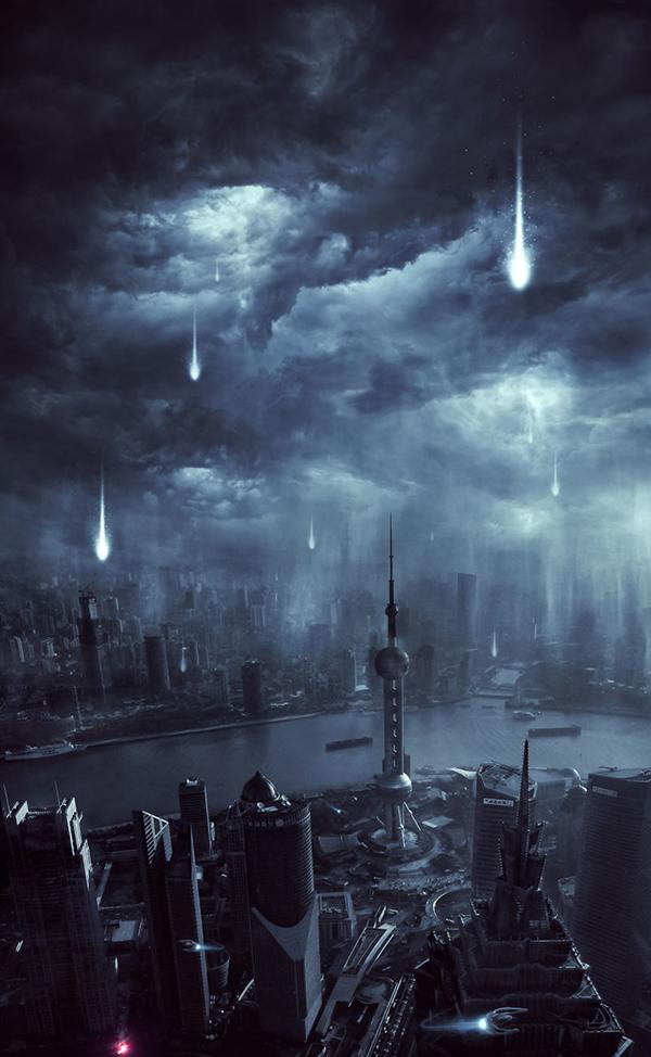 11. Alien Invasion Scene Creation in Photoshop