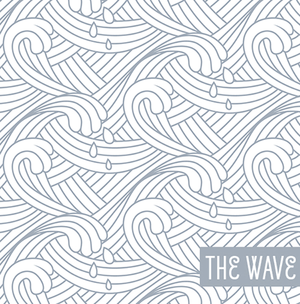17 Free Wave Lines Vector Seamless Pattern
