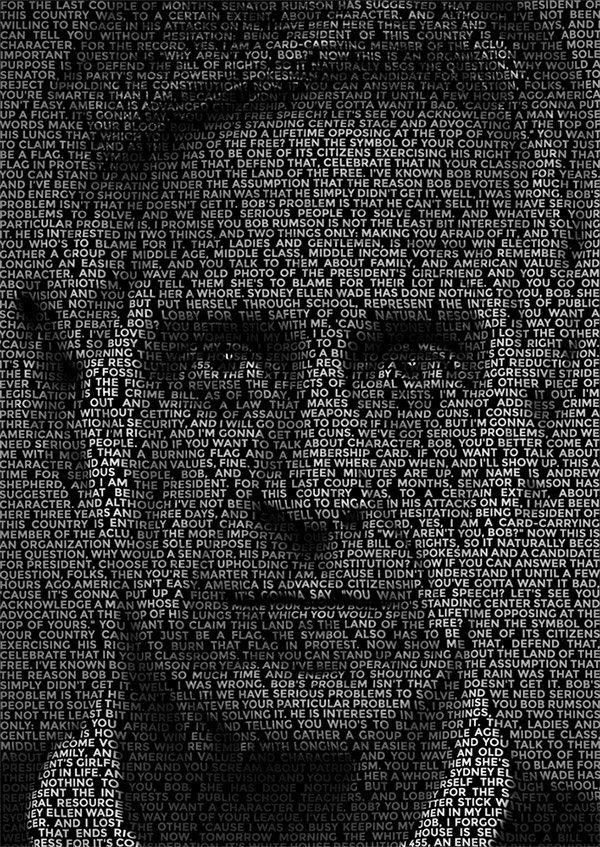 17 How To Create a Text Portrait Effect in Photoshop