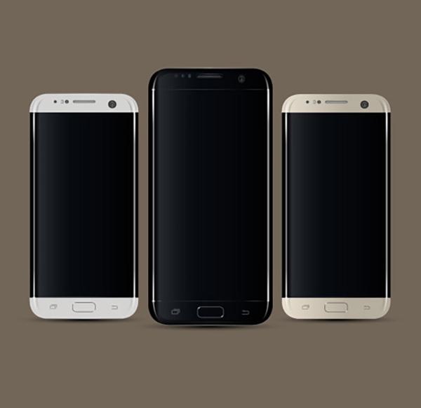 18 Free Vector Samsung S7 Edge – Smartphone