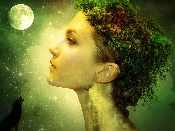 21. Create a Fantasy Nature Photo Manipulation in Photoshop