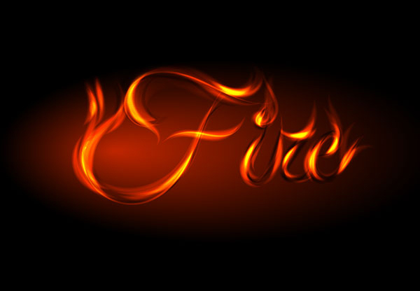 24 How to Fire Up Your Designs Using This Awesome Vector Fire Text Effect