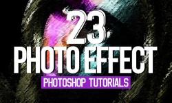 23 New Photoshop Photo Effect Tutorials