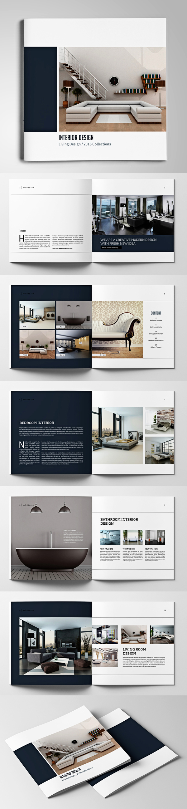 009 brochure design